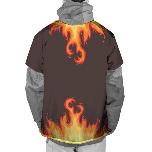 Накидка на куртку 3D  Фото 02, Пламя
