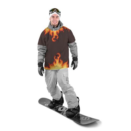 Накидка на куртку 3D  Фото 03, Пламя