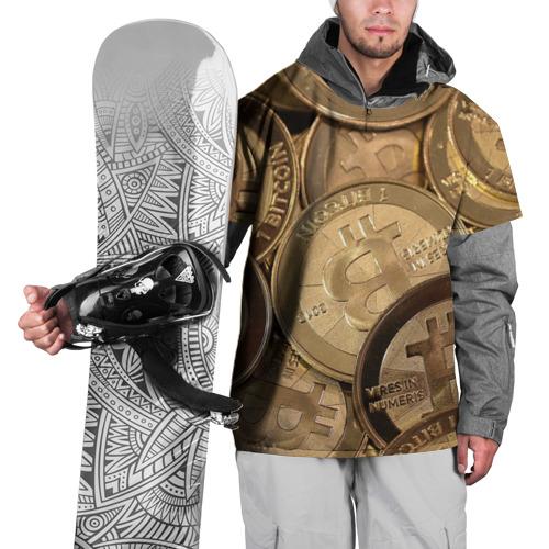 Накидка на куртку 3D  Фото 01, Bitcoin