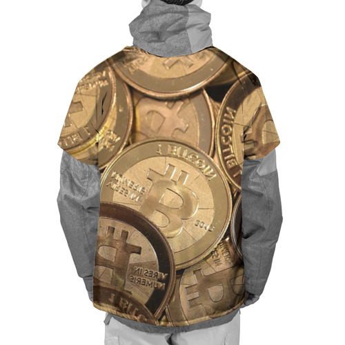 Накидка на куртку 3D  Фото 02, Bitcoin