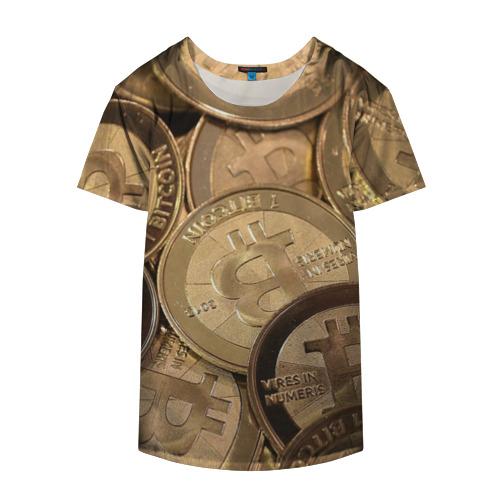 Накидка на куртку 3D  Фото 04, Bitcoin