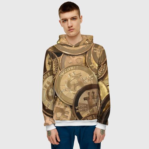 Мужская толстовка 3D  Фото 03, Bitcoin