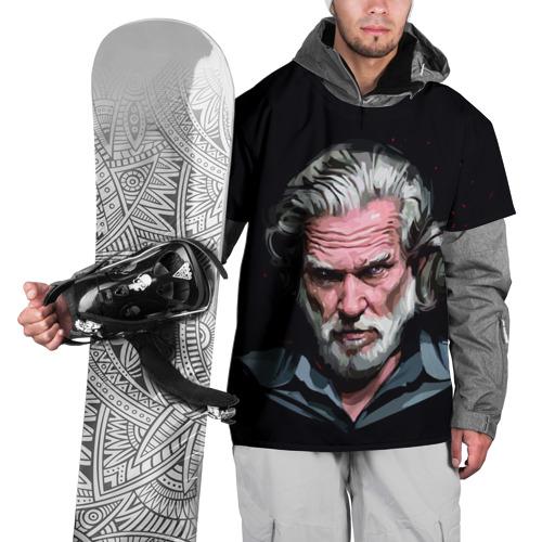 Накидка на куртку 3D  Фото 01, Джефф Бриджес