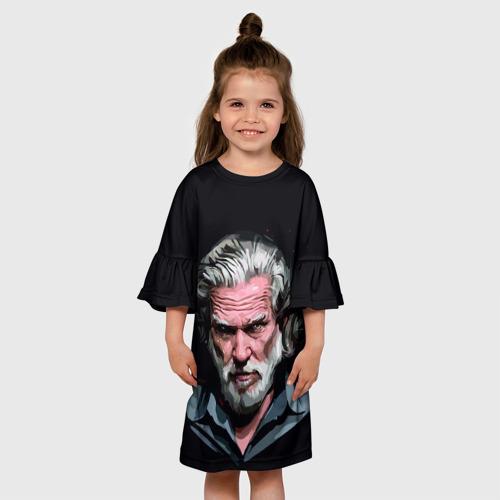 Детское платье 3D  Фото 01, Джефф Бриджес