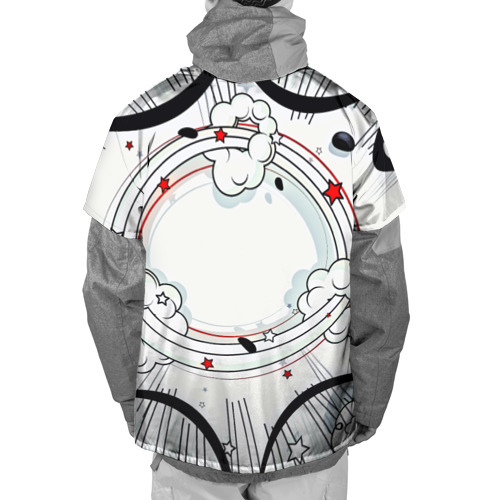Накидка на куртку 3D Fashion pop art Фото 01
