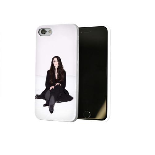 Чехол для Apple iPhone 8 силиконовый глянцевый  Фото 02, Киара