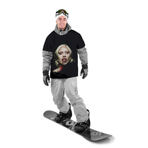 Накидка на куртку 3D  Фото 03, Леди Гага