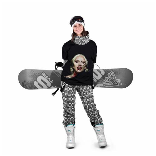 Накидка на куртку 3D  Фото 05, Леди Гага