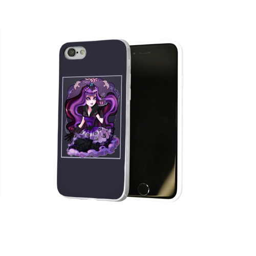 Чехол для Apple iPhone 8 силиконовый глянцевый  Фото 02, Monster High