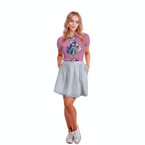 Женская рубашка поло 3D  Фото 04, Bonnie