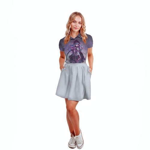 Женская рубашка поло 3D  Фото 04, River