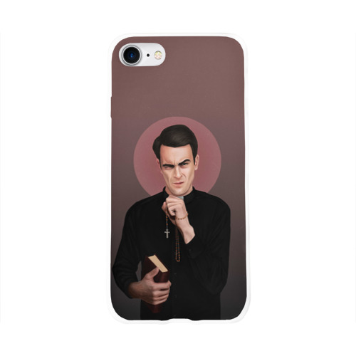 Чехол для Apple iPhone 8 силиконовый глянцевый  Фото 01, Cassidy