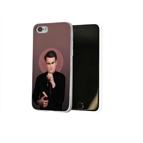 Чехол для Apple iPhone 8 силиконовый глянцевый  Фото 02, Cassidy