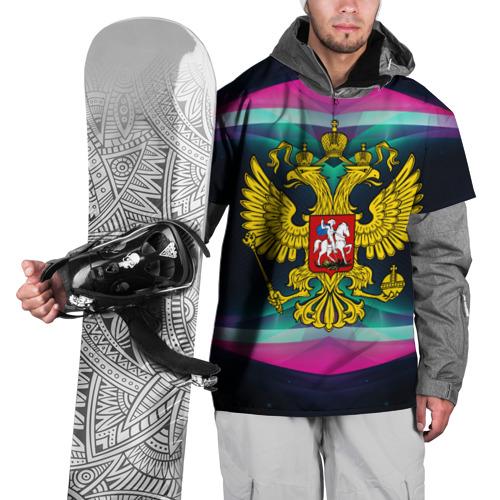 Накидка на куртку 3D  Фото 01, Герб России