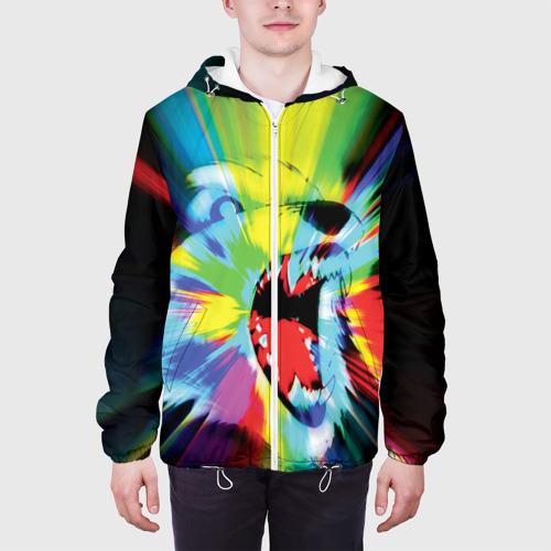 Мужская куртка 3D  Фото 04, Психоволк