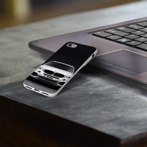 Чехол для Apple iPhone 8 силиконовый глянцевый  Фото 03, BMW X5