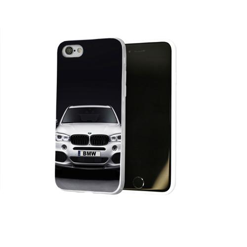 Чехол для Apple iPhone 8 силиконовый глянцевый  Фото 02, BMW X5