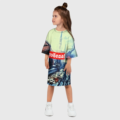 Детское платье 3D  Фото 03, С праздником победы!