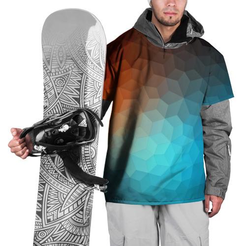 Накидка на куртку 3D  Фото 01, Битва абстракций