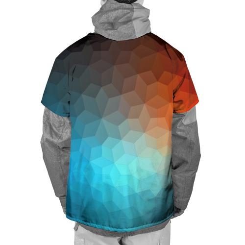 Накидка на куртку 3D  Фото 02, Битва абстракций
