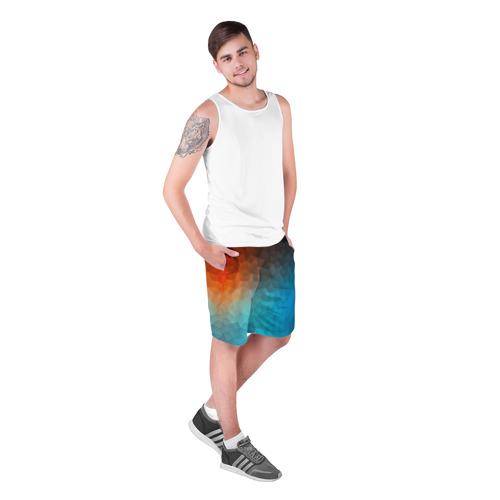 Мужские шорты 3D  Фото 03, Битва абстракций