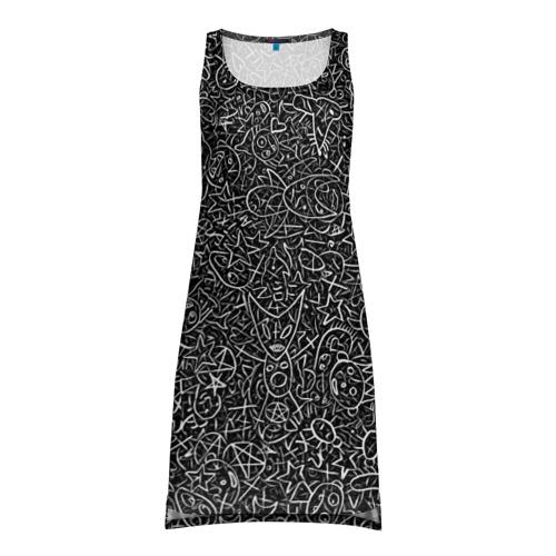 Платье-майка 3D Die Antwoord. Рисунки