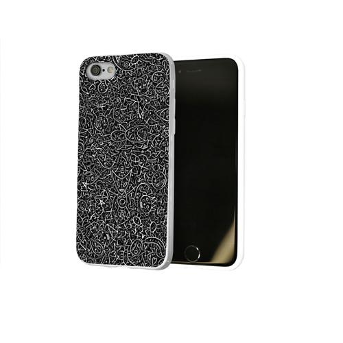 Чехол для Apple iPhone 8 силиконовый глянцевый  Фото 02, Die Antwoord. Рисунки