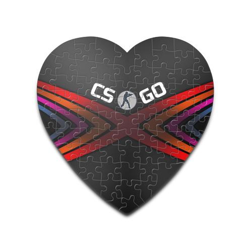 Пазл сердце 75 элементов  Фото 01, CS GO линии