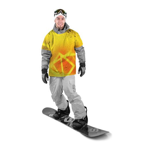 Накидка на куртку 3D  Фото 03, Оранжевый цвет
