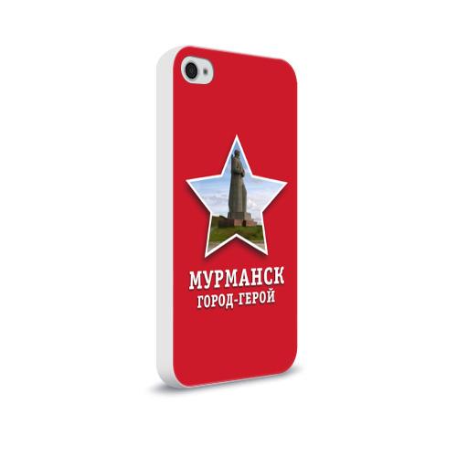 Чехол для Apple iPhone 4/4S soft-touch  Фото 02, Мурманск город-герой
