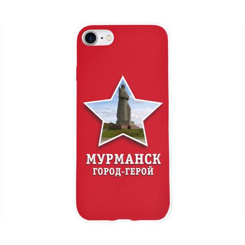Чехол для Apple iPhone 8 силиконовый глянцевый  Фото 01, Мурманск город-герой