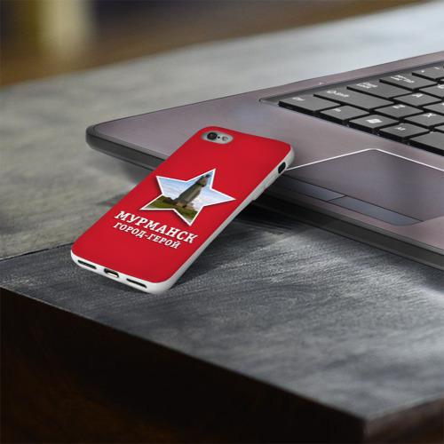Чехол для Apple iPhone 8 силиконовый глянцевый  Фото 03, Мурманск город-герой