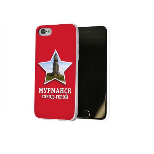 Чехол для Apple iPhone 8 силиконовый глянцевый  Фото 02, Мурманск город-герой