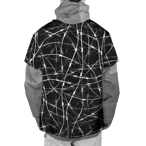 Накидка на куртку 3D  Фото 02, Колючая проволка