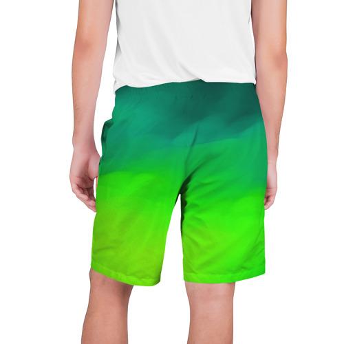 Мужские шорты 3D  Фото 02, Кислотный цвет