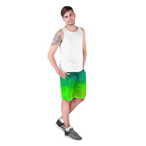 Мужские шорты 3D  Фото 03, Кислотный цвет