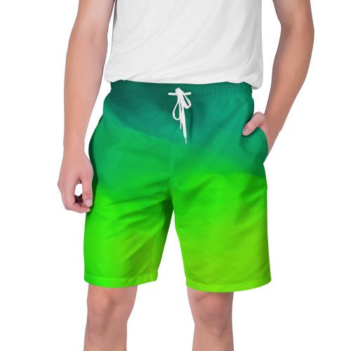 Мужские шорты 3D  Фото 01, Кислотный цвет