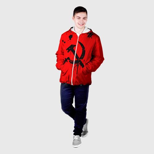 Мужская куртка 3D  Фото 03, Серп и молот