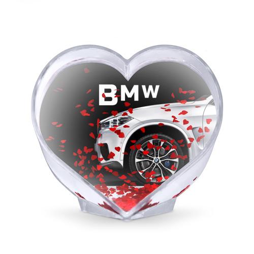 Сувенир Сердце  Фото 02, BMW белая