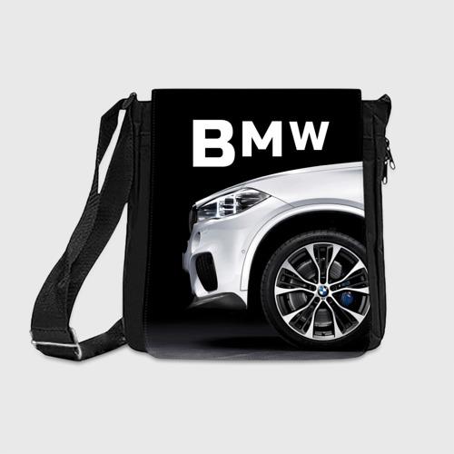 Сумка через плечо  Фото 01, BMW белая