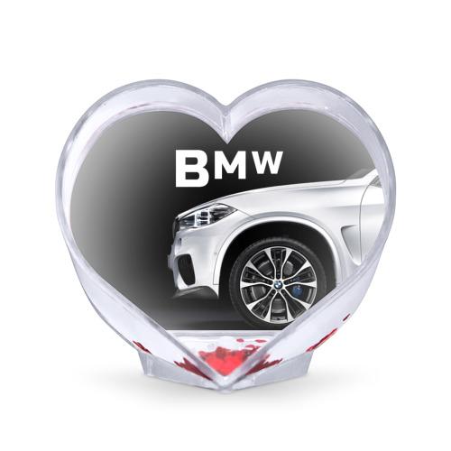 Сувенир Сердце  Фото 01, BMW белая