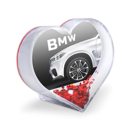 Сувенир Сердце  Фото 03, BMW белая