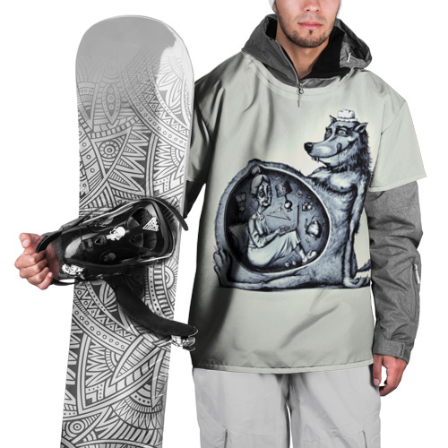 Накидка на куртку 3D  Фото 01, Wolf