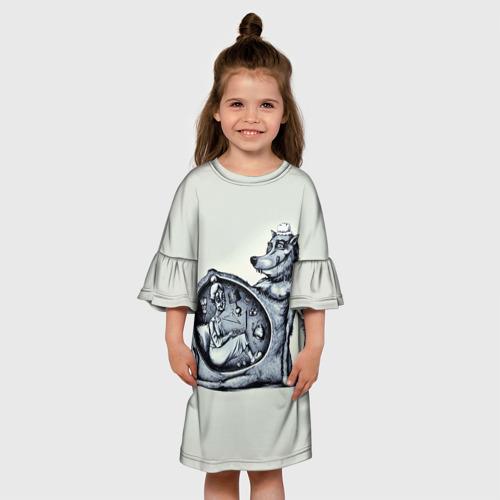 Детское платье 3D  Фото 01, Wolf