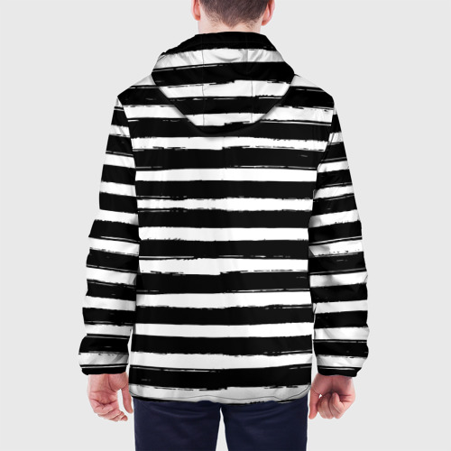 Мужская куртка 3D  Фото 05, Тельняшка