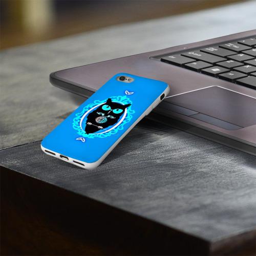 Чехол для Apple iPhone 8 силиконовый глянцевый  Фото 03, Owl