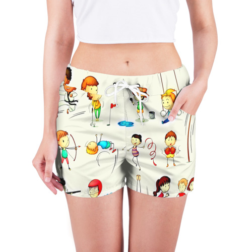 Женские шорты 3D  Фото 03, Sport