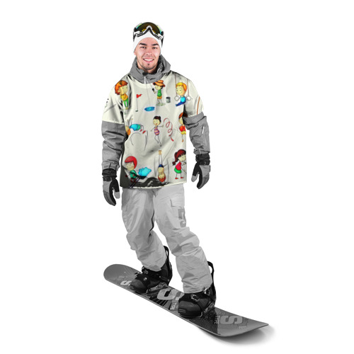 Накидка на куртку 3D  Фото 03, Sport