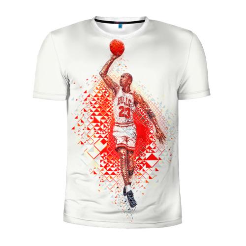 Мужская футболка 3D спортивная  Фото 01, Michael Jordan