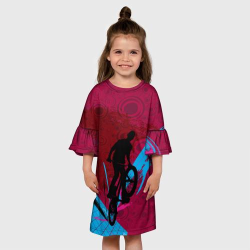 Детское платье 3D  Фото 01, Bicycle